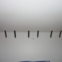 Jani, Helsinki - Sound absorbers in the ceiling