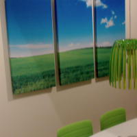 Addalot Consulting in Malmö. 3 pcs of 60*120 Hertz acoustic panels.