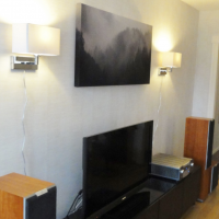 Sound absorbing artwork - Mattias in Tranås