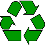 Manufactured by environmentally friendly and recycable materials