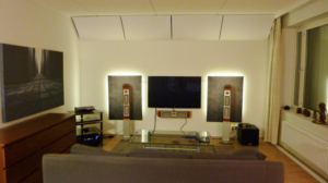 Jani, Helsinki – Sound absorbers in the ceiling
