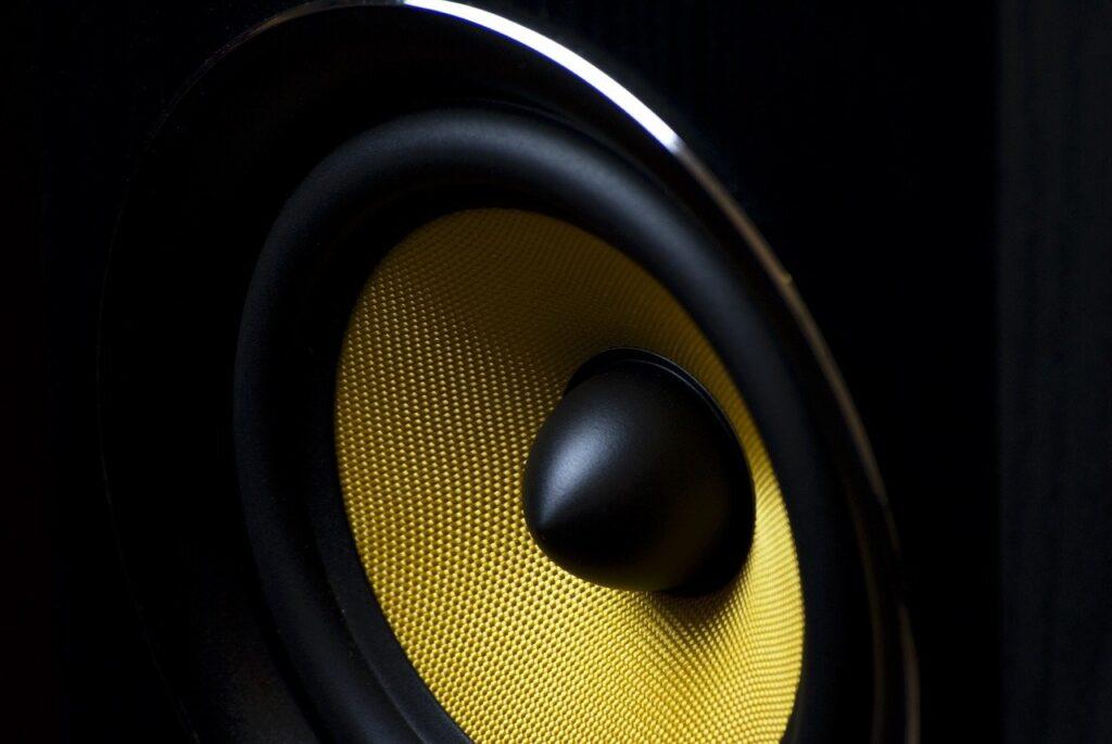 speaker, membrane, audio